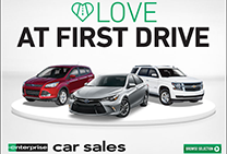 Love at first drive. Enterprise Auto Sales